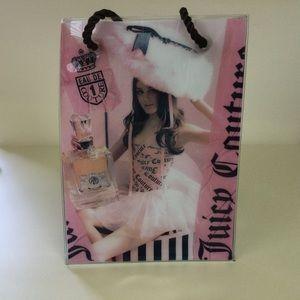 Juicy couture PVC tote bag